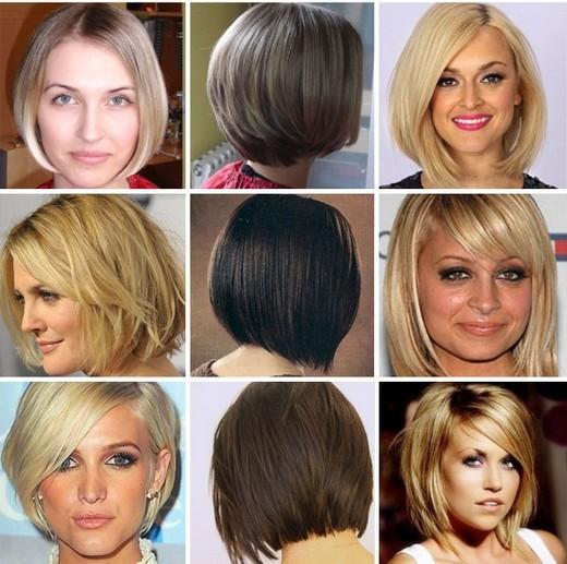 Каре каскад на средние и короткие волосы, фото и техника стрижки ... | 517x520