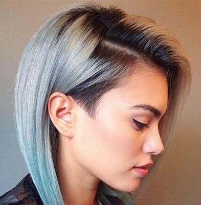 Стильные женские стрижки с выбриванием