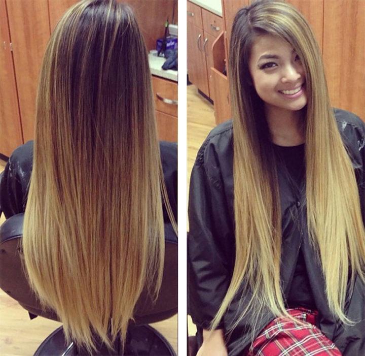 Брондирование натуральных волос