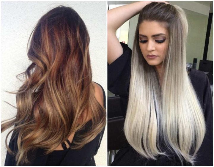 Модное окрашивание 2019 на длинные волосы