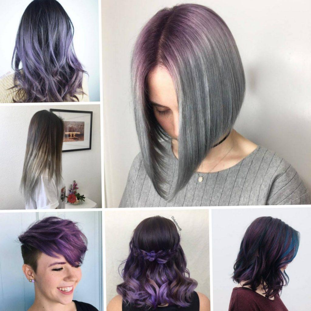 Цвет волос в моде короткие