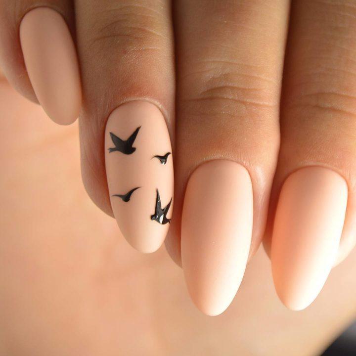 Нарощенные ногти. с прикольными рисунками, отправки
