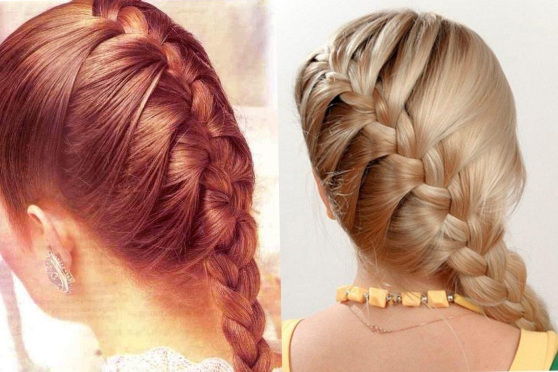 плетение кос фото инструкция лучи зима