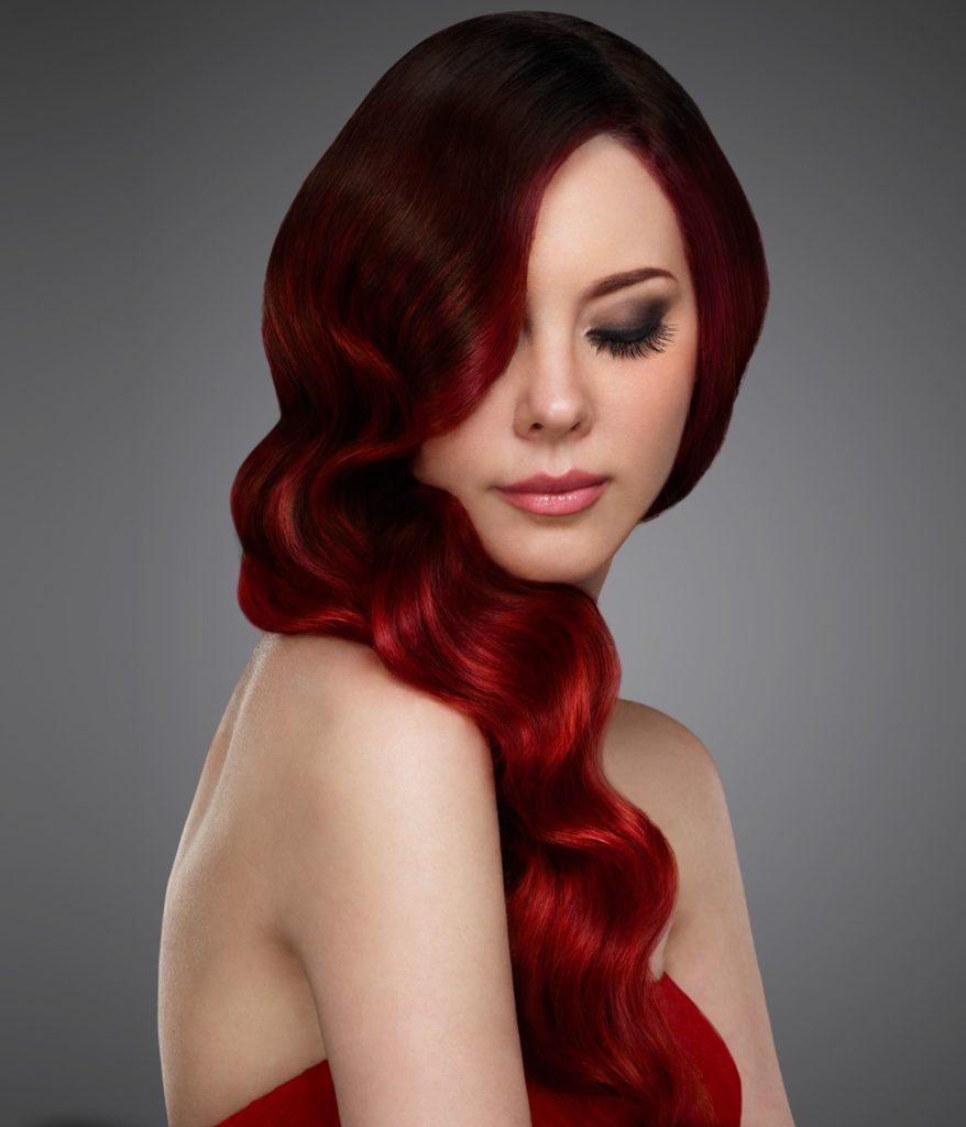 понадобятся поднебесной волосы красного цвета картинки можно объяснить