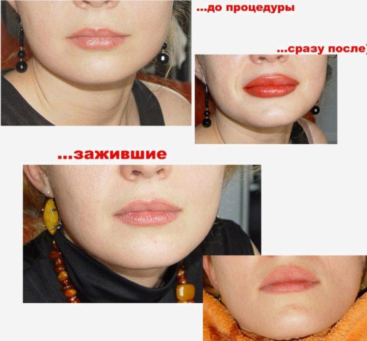 Как делать татуаж бровей губ глаз