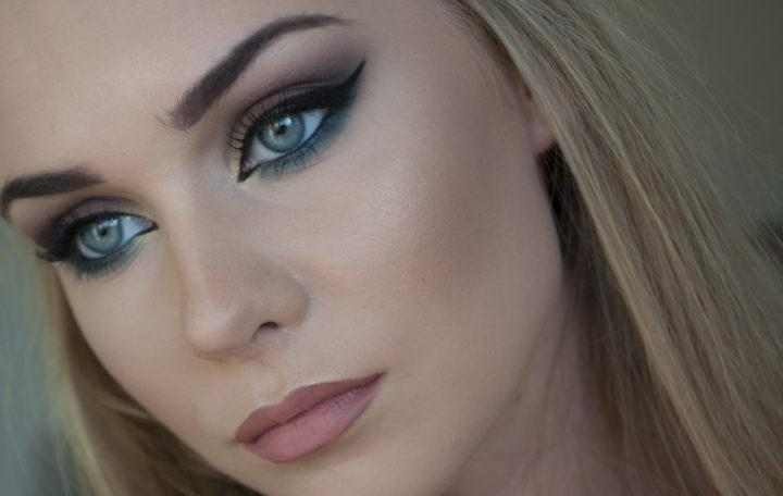 Макияж для глаза серо голубые