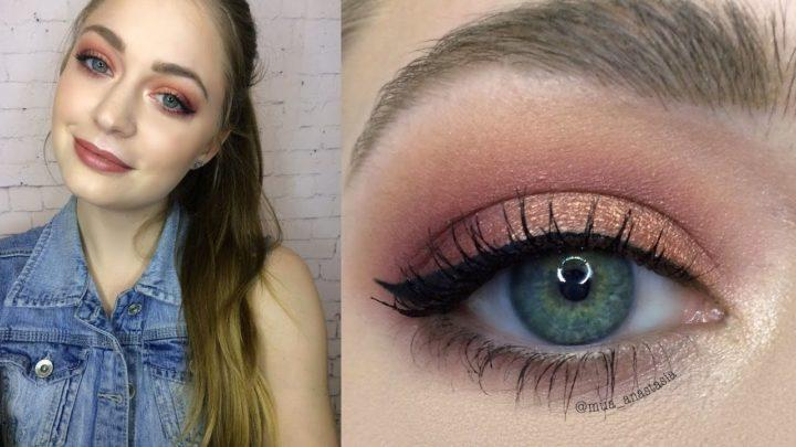 Макияж для серо-зеленых глаз | Look.TM