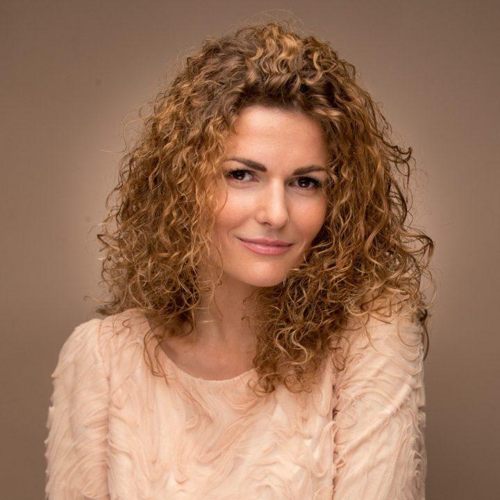 Химия на средние волосы (40 фото)