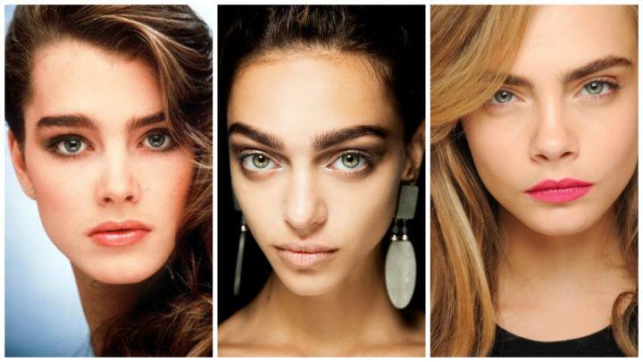 Красивые брови: разная форма, а также рекомендации (50 фото)
