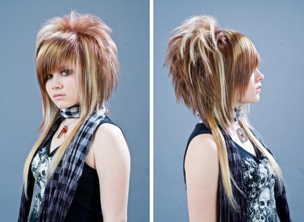 женские стрижки молодежные фото
