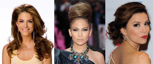 Вечерние прически для женщин за 50 на длинные волосы