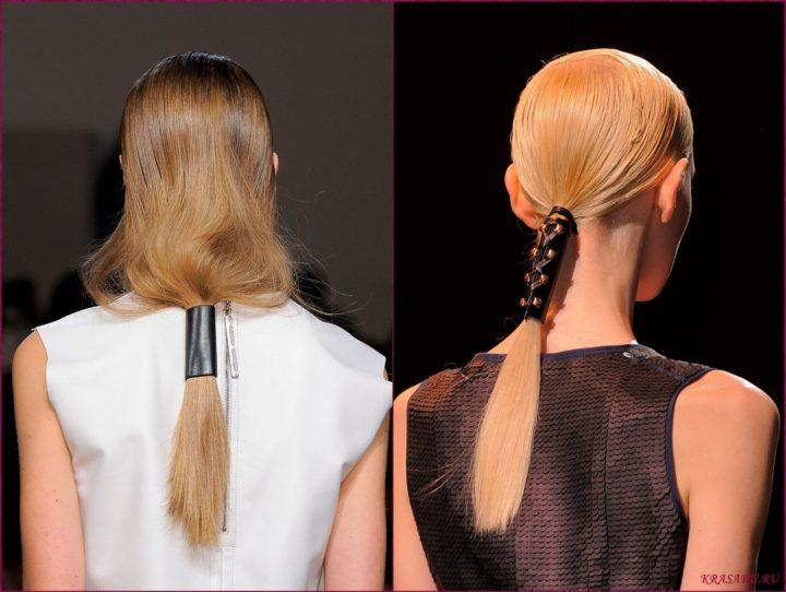 Как сделать красивый хвост Все о волосах 36